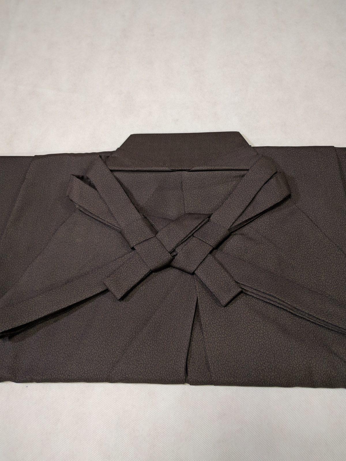 男の和服着物 袴 本畳み