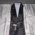 男の和服着物、モッズ、半衿、色、組み合わせ