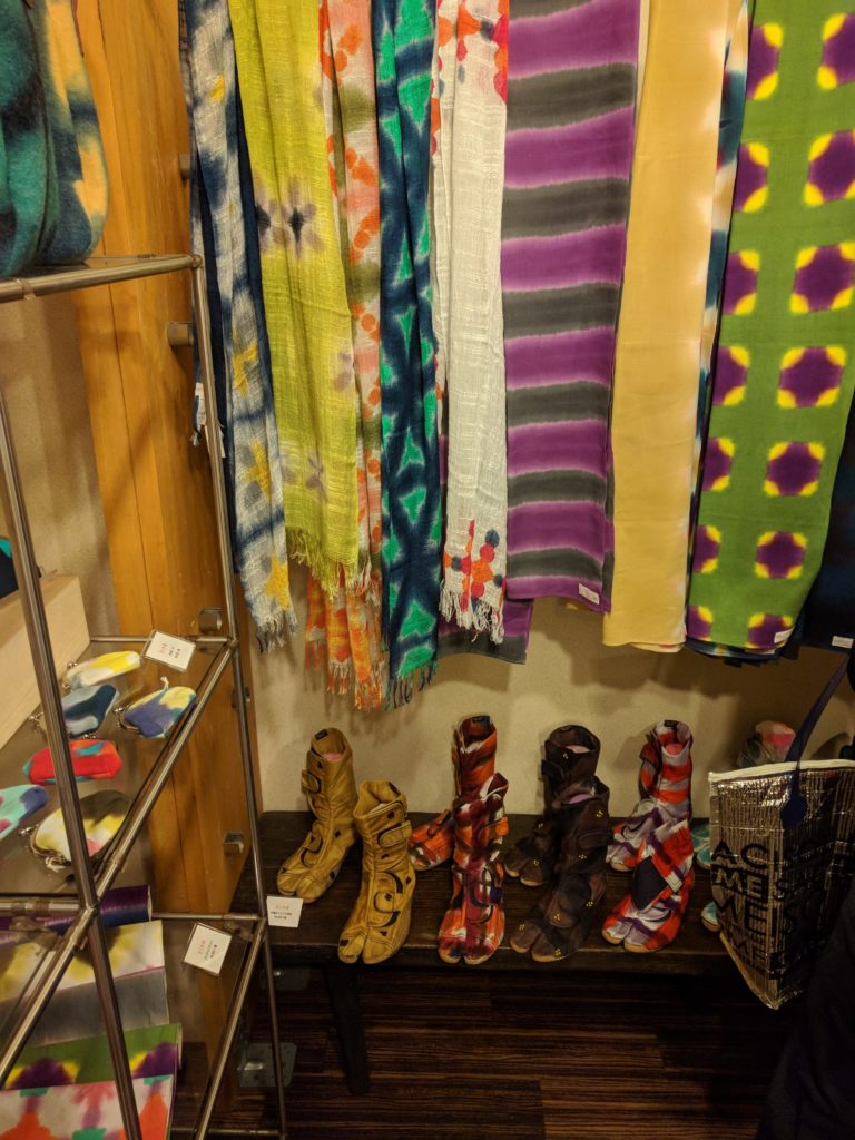 男の和服着物,モッズ,メンズ着物,和装,裏着物,有松,絞り祭り,狐面,デザイナー,