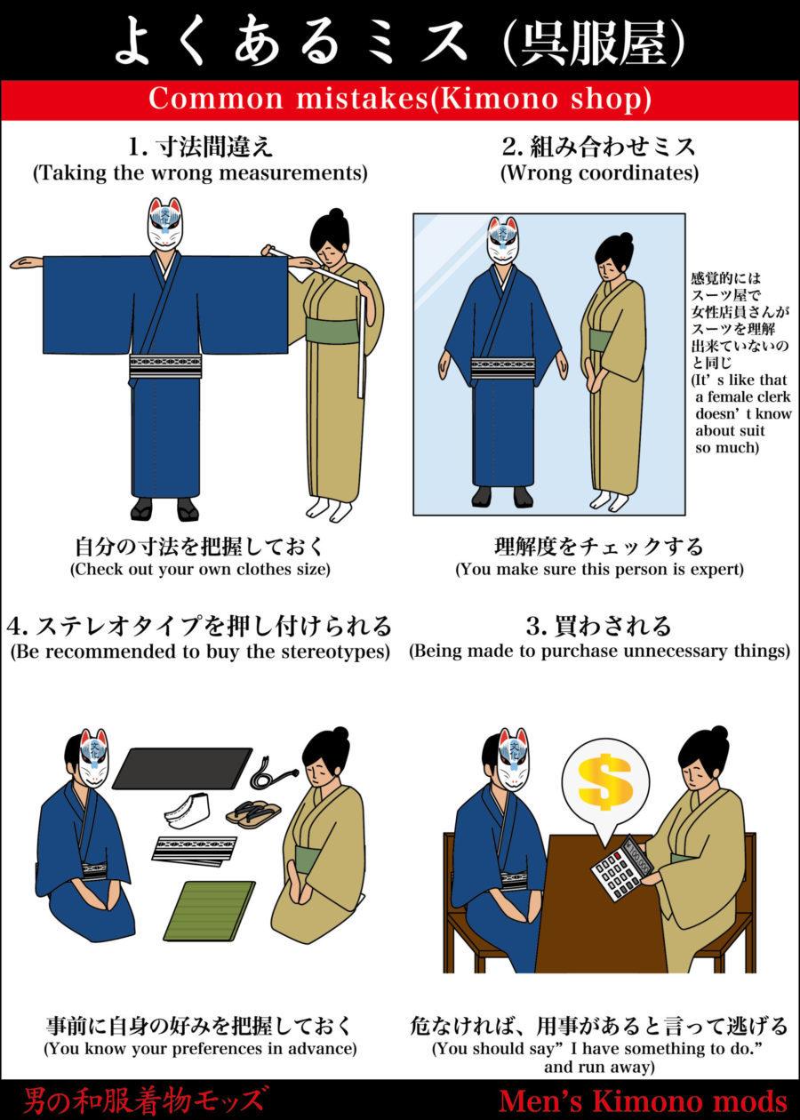 男の和服,メンズ着物,狐面,日本,裏着物,呉服屋,和,文化