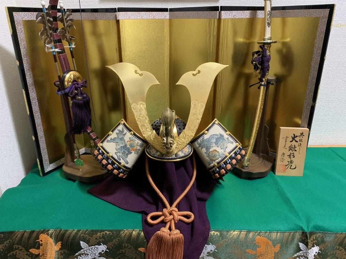 男の和服,メンズ着物,狐面,日本,裏着物,和,文化,鯉のぼり,端午の節句