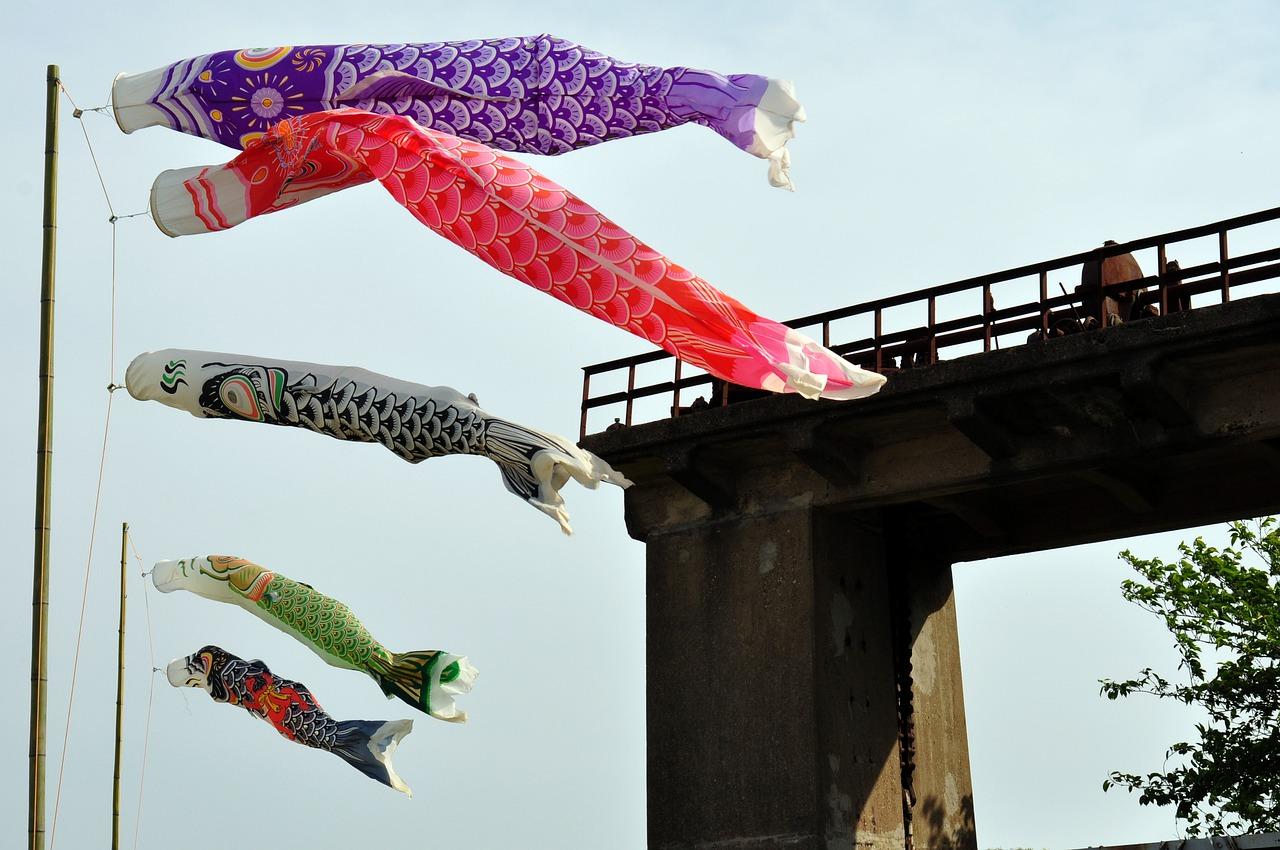 男の和服,モッズ,メンズ着物,和装,裏着物,和,文化,狐面,歴史,端午の節句,日本,鯉のぼり