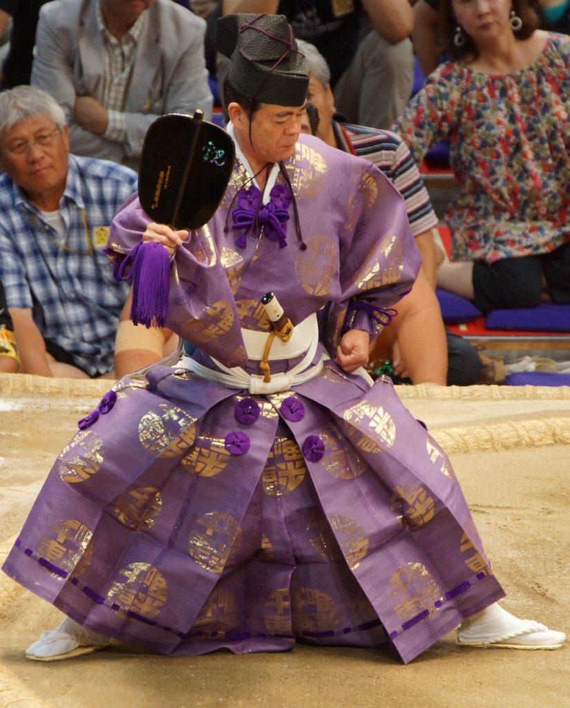 男の和服,メンズ着物,狐面,日本,裏着物,和,文化,相撲,土俵