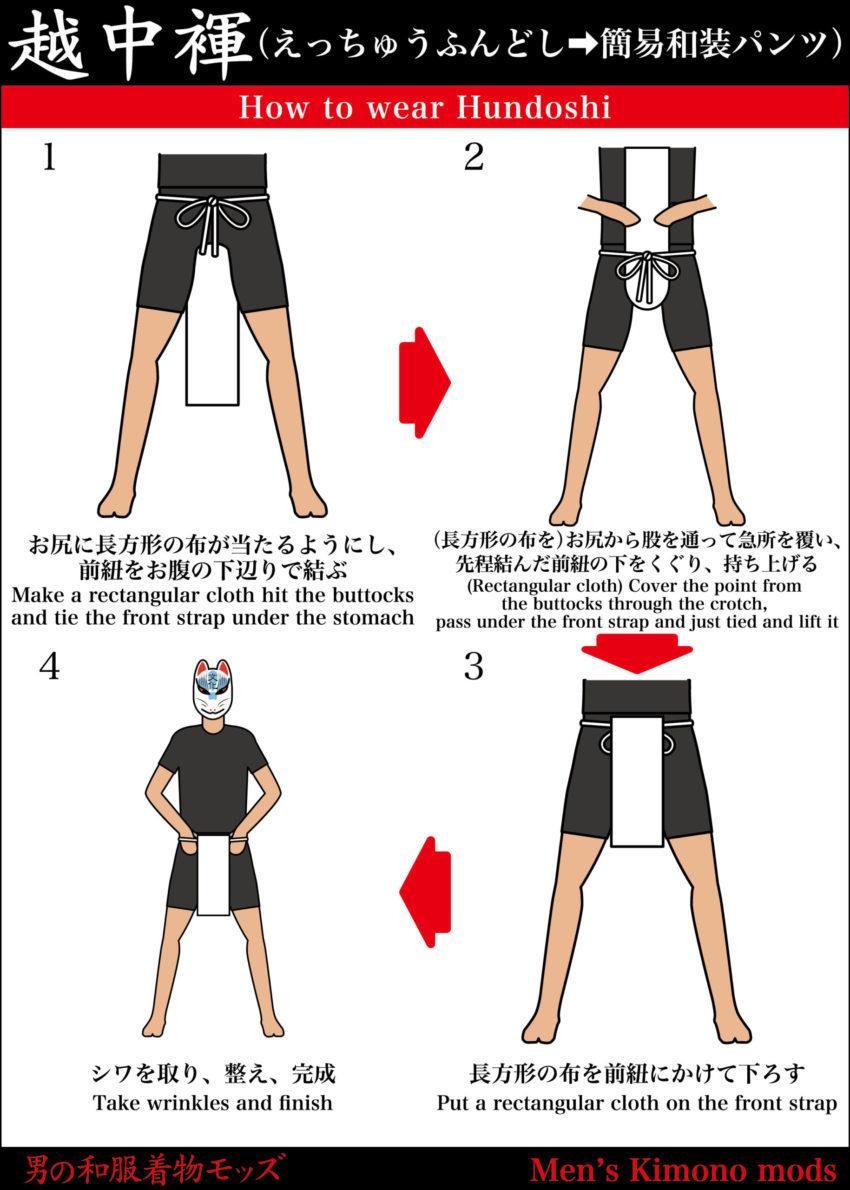 男の和服,モッズ,メンズ着物,和装,裏着物,和,文化,狐面,ふんどし,越中,日本,六尺,もっこ,